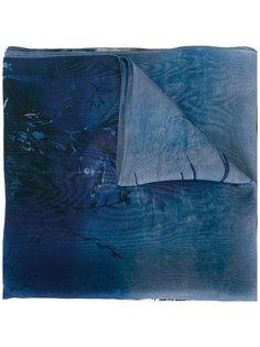 шарф с принтом морских раковин Alberta Ferretti