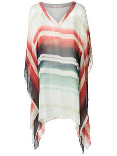v neck striped kaftan Brigitte