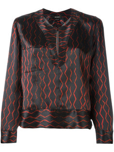 peep-hole blouse Isabel Marant
