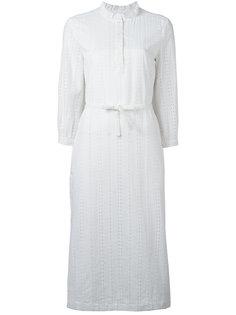 платье-рубашка с перфорацией A.P.C.