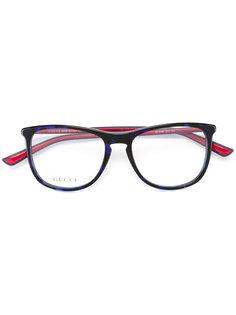 очки в квадратной оправе Gucci Eyewear