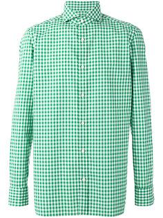 клетчатая рубашка Borrelli