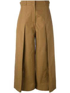 широкие плиссированные брюки  Fendi