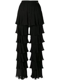брюки с многослойными рюшами Twin-Set