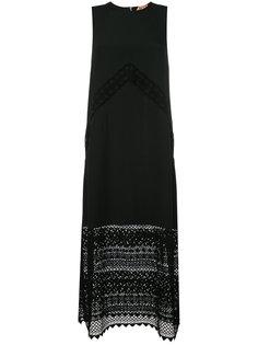 платье без рукавов с кружевными панелями Nº21