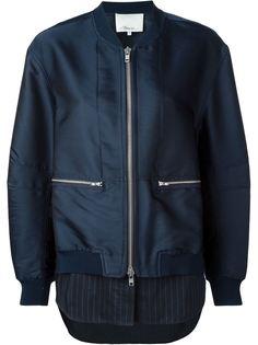 куртка-бомбер с элементом рубашки 3.1 Phillip Lim