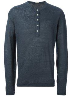 свитер на пуговицах  Massimo Alba