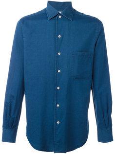однотонная рубашка Loro Piana