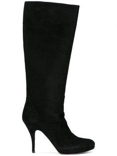 сапоги с миндалевидным носком Salvatore Ferragamo