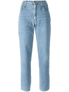 укороченные джинсы  Moschino Vintage