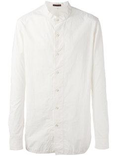 однотонная рубашка Ziggy Chen