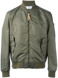 куртка-бомбер с карманом на рукаве Closed