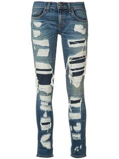 distressed skinny jeans  Rag & Bone /Jean