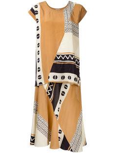 платье с принтом Nehera
