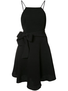 bow detail flared dress  C/Meo