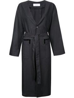 пальто с поясом En Route