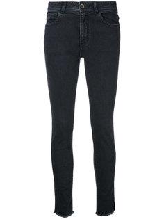 джинсы с необработанными краями En Route