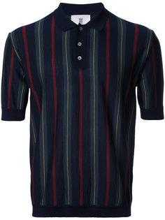 рубашка-поло в полоску Kent & Curwen
