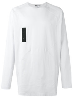 logo panel sweatshirt Y-3