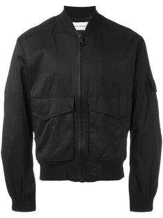куртка-бомбер с заплатками  Our Legacy