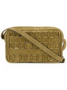 фактурная сумка через плечо  Tomasini