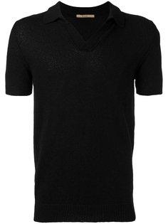 однотонная рубашка-поло Nuur