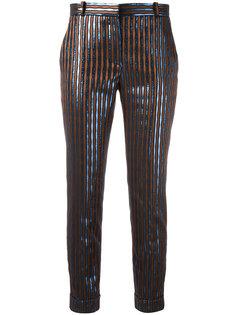 полосатые брюки Carven