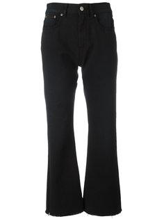 укороченные расклешенные джинсы Mm6 Maison Margiela