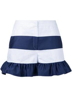 полосатые шорты с оборками Goen.J