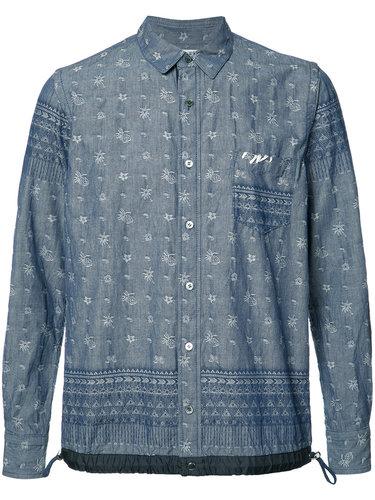 long-sleeved sweatshirt Sacai