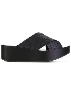 сандалии на платформе Pedro Garcia