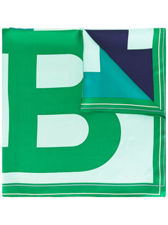 платок с принтом B Bally