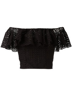 ruffle-detailed off-shoulder top Philosophy Di Lorenzo Serafini