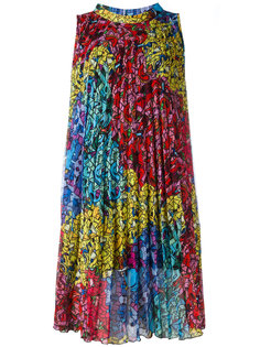 расклешенное плиссированное платье Ultràchic