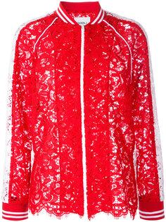 кружевная куртка-бомбер  Goen.J