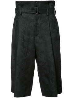 belted cropped trousers Aganovich