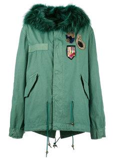 куртка с меховой оторочкой Mr & Mrs Italy