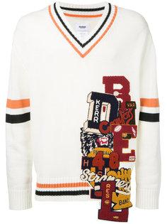 свитер с вышивкой Doublet