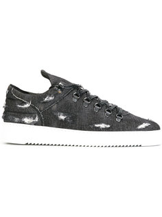 distressed lace-up sneakers Filling Pieces