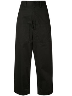 cropped wide trousers Ys Y`s