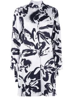 платье-рубашка с цветочным рисунком Cédric Charlier