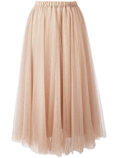 тюлевая юбка с эластичным поясом Rochas