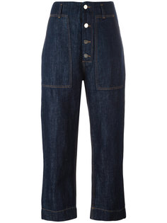 укороченные джинсы  Sofie Dhoore