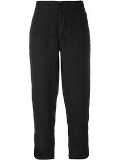 льняные укороченные брюки Barena
