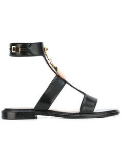 hanging love charm sandals Fendi