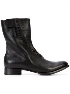 zipped boots  Yohji Yamamoto