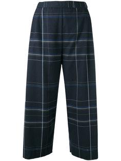 укороченные клетчатые брюки Stephan Schneider