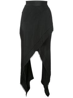 юбка с неравномерным подолом Kitx