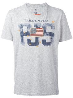 футболка с нашивкой-флагом Parajumpers
