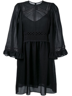 crochet detailed dress McQ Alexander McQueen